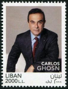 HERRICKSTAMP NEW ISSUES LEBANON Carlos Ghosson