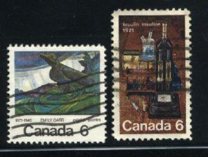 Can #532-33   -2  u   VF 1971 PD