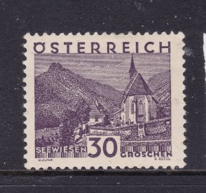 Austria a MH 30g from the 1929 set