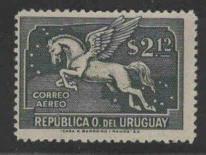Uruguay Scott C80 MH* Pegasus Airmail