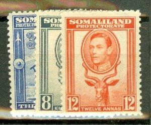 B: Somaliland 84-95 MNH CV $164; scan shows only a few