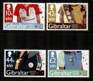 Gibraltar #1247-1250  MNH  Scott $13.50