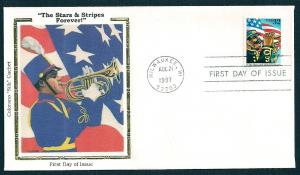 UNITED STATES FDC 32¢ Stars & Stripes Forever 1997 Colorano