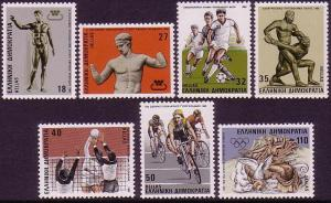 Greece Sport 7v SG#1721-1727 MI#1620-1626