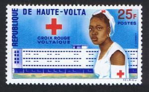 Upper Volta Establishment of Red Cross in Upper Volta 1v 1962 MNH SG#98
