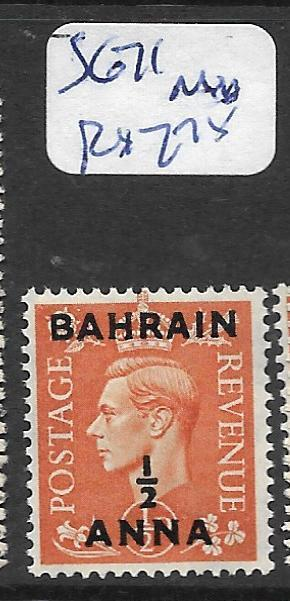 BAHRAIN (P0902B) KGVI ON GB    1/2A/1/2D SG 71  MNH