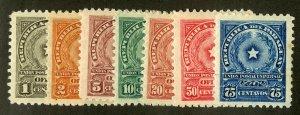 PARAGUAY O85-91 MH SCV $2.10 BIN $1.00