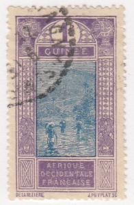 French Guinea, Scott # 63 (1), Used