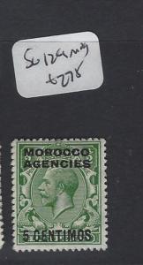 MOROCCO AGENCIES   (P1305B) KGV  5C   SG 129     MOG