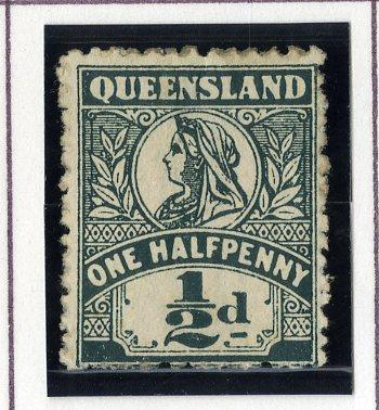 QUEENSLAND 124 MH SCV $3.50 BIN $1.50 ROYALTY