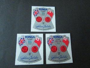 Tonga 1977 Sc C0117-C0119 set MNH