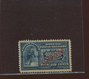 Guam Scott E1a Special Delivery Unique ULTRAMAR Specimen Overprint Unused Stamp