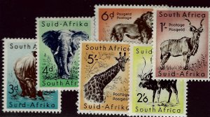 Amazing South Africa #223-228 Mint OG F-VF Value $40.00...Bid to Win!!