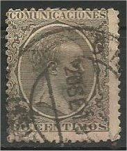 SPAIN, 1889, used 30c King Alfonso XIII   Scott 264