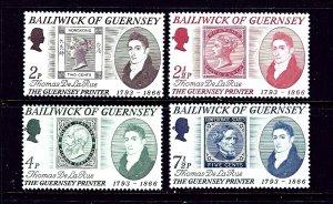 Guernsey 56-59 MNH 1971 set