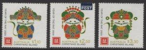 CHRISTMAS ISLAND 2020 YEAR OF THE RAT MNH