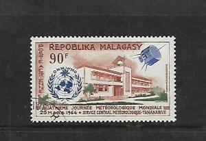 MALAGASY REPUBLIC, C78, MNH, METEOROLOGICAL DAY