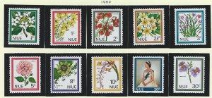 Niue   mnh sc  122-131