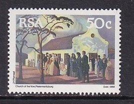 South Africa   #761   MNH  1988  the great trek  50c