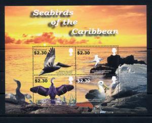 [40277] Montserrat 2005 Birds Vögel Oiseaux Ucelli  Pelican Albatros MNH Sheet
