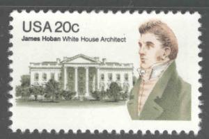 USA Scott 1936 MNH** James Hoban White House Architect