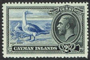 CAYMAN ISLANDS 1935 KGV BIRDS 2/- MNH **