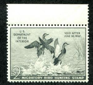 United States RW18 Mint NH VF