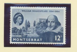 Montserrat Scott #153, Shakespeare, British Commonwealth Common Design Issue ...
