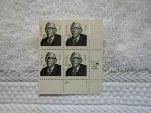 SC# 3426 33 CENT PL. BLOCK CLAUDE PEPPER ( MNH )