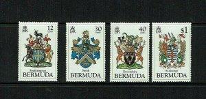 Bermuda:1984, Bermuda Coats of Arms, (2nd series)  MNH set