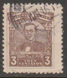 MEXICO 508 3¢ Gen. IGNACIO ZARAGOZA. USED. VF. (1138)