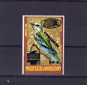 Timor (Occussi-Ambeno) 1991 Halley's Comet/Concorde/Birds (1) MNH VF
