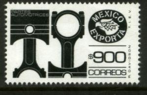 MEXICO Exporta 1500 $900P Pistons Fosfo Paper 10 MNH