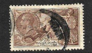 GB 1934 2/6 SEAHORSES    FU SG450