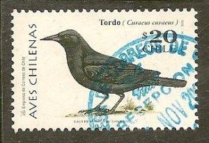 Chile  Scott  1272a   Bird     Used