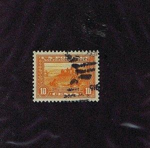 SC# 400A USED 10C DISCOVER SAN FRAN BAY 1913 DUPLEX CNL 2019 PSAG CERT GRADED 95