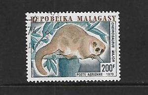 MALAGASY REPUBLIC, C118,  MINT HINGED, LEMUR TYPE OF REGULAR ISSUE