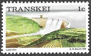 Transkei SC 5 - Lubisi Dam - MNH - Perf 12 - 1976