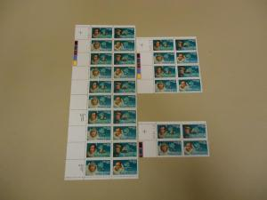 USPS Scott 2386-89 25c Antartica Explorers Stamps Lot of ...