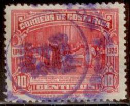 Costa Rica 1930 Dated 1929 - Waterloo and Sons SC#156 Used