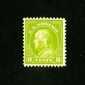 US Stamps # 414 VF/XF OG LH