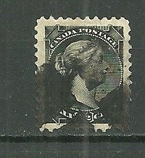 1882 Canada #34   ½¢ Queen Victoria small stamp used