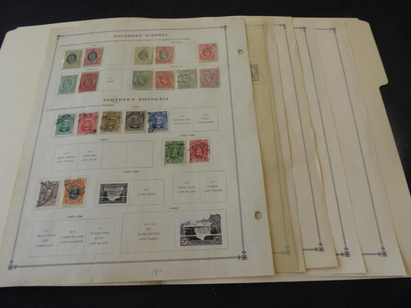 Southern Nigeria & Southern Rhodesia 1901-1964 Mint/Used Stamp Collection