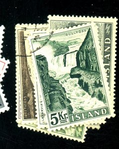 ICELAND 289-96 USED FVF Cat $23