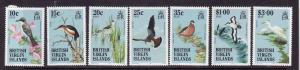 Virgin Is.-Sc#494//507-seven unused NH from the Bird set-1985-