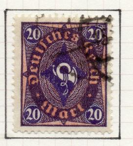 Germany 1922-23 Early Issue Fine Used 20M. 302152