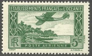 FRENCH POLYNESIA SCOTT C1