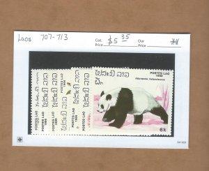Laos 707-713 MNH