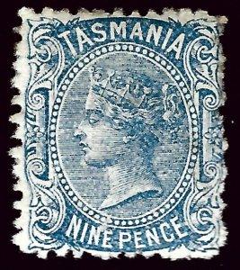 Tasmania #58 Mint Fine Typical rough perfs SC$32.50....Grab a Bargain!