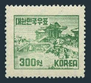 Korea South 184,lightly hinged.Michel 143. Bool Gook Trmple,Kyongju,1952.